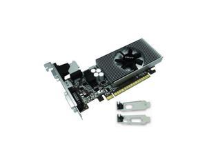 PNY Video Graphics Card NVIDIA GeForce GT 730 2 GB DDR3 VGA/DVI/HDMI Low Profile PCI-Express 2GB