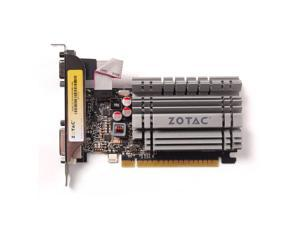 ZOTAC Video Graphics Card NVIDIA GeForce GT 730 4GB DDR3 VGA/DVI/HDMI Low Profile PCI-Express