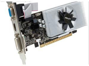 PNY NVIDIA GeForce GT 730 2GB DDR3 128Bit PCI-Express2.0 VGA/DVI-D/HDMI Video Card