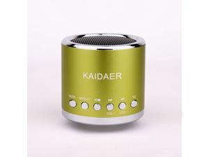 Kaidaer Mini Speaker TF card\MP3\USB Player, Stereo KD-MN02 With FM Radio