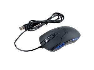 LED USB Optical Gaming Mouse 6 Buttons Adjustable 2400 DPI PC Laptop Pro Gamer