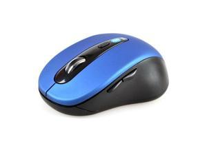 Wireless Mini Bluetooth Optical Mouse Blue 1000 DPI for PC Android 3.1+ Tablet