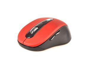 Wireless Mini Bluetooth Optical Mouse Red 1000 DPI for PC Android 3.1+ Tablet