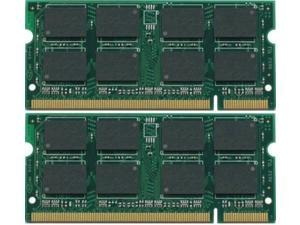 4GB KIT 2x2GB PC2-5300S DDR2-667 667Mhz 200pin SODIMM Memory Module
