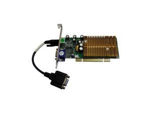 JATON VIDEO-338PCI-DX GeForce 6200 128MB PCI Dual VGA Video Graphics Card