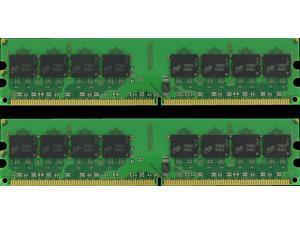 4GB (2*2GB) PC2-5300 1.8V NON-ECC DDR2-667MHZ 240-PIN DIMM 256X64 MEMORY