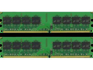 2GB (2x1GB) DDR2 Non-ECC PC2-4200 533MHz 240-Pin 1.8V DESKTOP MEMORY