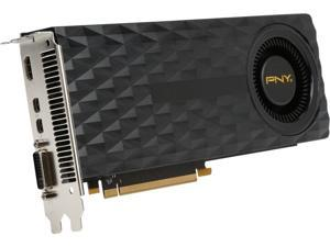 PNY NVIDIA GeForce GTX 970 4GB GDDR5 DVI/HDMI/2Mini DisplayPort PCI-Express Video Graphics Card