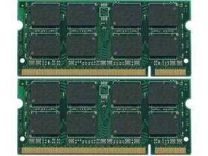 2GB Kit (2*1GB) DDR2 200-Pin SODIMM Laptop Unbuffered NON-ECC RAM Memory for Dell Inspiron 6400