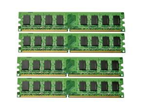 4GB (4x1GB) DDR2-800MHz PC2-6400 Unbuffered Desktop Memory Dell Inspiron 531