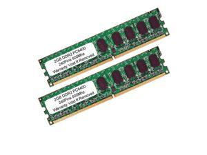 4GB (2GB X 2) PC2-6400 DDR2-800MHZ 240PIN Dual Channel DESKTOP Memory