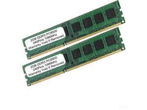 4GB (2x2GB) PC3-8500 DDR3-1066MHz 240pin UnBuffered RAM Memory