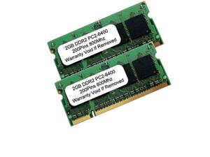 4GB (2x2GB) PC2-6400 DDR2-800MHz 200pin SODIMM Dual Channel Laptop Notebook Memory