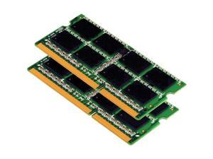 8GB 2x4GB PC3-8500 DDR3-1066MHz 204-Pin SODIMM Laptop Memory
