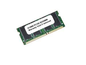 512MB PC100 SDRAM 144PIN SODIMM LAPTOP LOW DENSITY RAM Memory