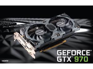 Inno3D NVIDIA Geforce GTX 970 4GB GDDR5 256-bit Overclocked Video Graphics Card HD1080,4K,4 monitors