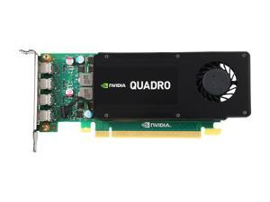 PNY Quadro K1200 VCQK1200DVI-PB 4GB 128-bit GDDR5 PCI Express 2.0 ATX or SFF Workstation Video Graphics Card for DVI