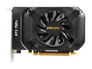 PNY VCGGTX750T2XPB-OC GeForce GTX 750 Ti 2GB 128-Bit GDDR5 PCI Express 3.0 x16 Video Graphics Card