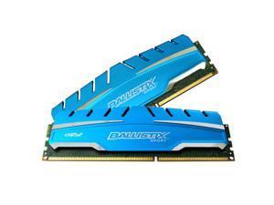 Crucial Ballistix Sport XT 16GB Kit non-ECC 1.5V 8GB*2 DDR3 1866MHz PC14900 CL10 Memory