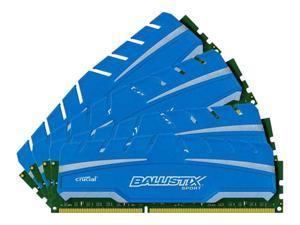 Crucial Ballistix 16GB Kit 4GB*4 1.5V Non-ECC 240-pin Sport XT DDR3 1866MHz PC14900 CL10 Memory