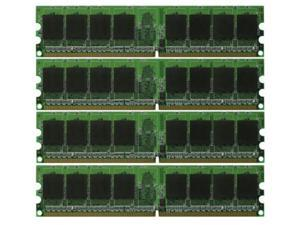 8GB KIT 4*2GB PC6400 DDR2-800 Dual Channel 240 pin DIMM Desktop Memory
