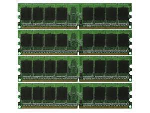 8GB 4*2GB PC6400 DDR2-800 800 MHz 240 pin DIMM Desktop Memory Low Density