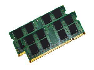 4GB 2*2GB PC6400 DDR2 800 200-Pin Non-ECC Unbuffered MHz Laptop Memory for Dell Latitude D630 D630C
