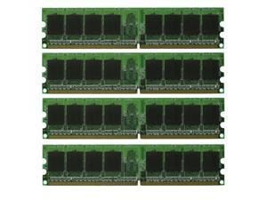 4GB 4*1GB PC6400 DDR2 800 Non Ecc 240 pin DIMM Dekstop Memory Low Density