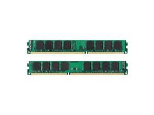 4GB 2 *2GB Memory 240-Pin CL9 Non-ECC Unbuffered PC12800 1600 MHZ DDR3 for Desktop Computers