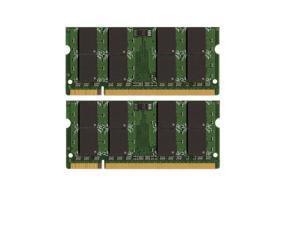 8GB 2*4GB MEMORY 200-Pin Unbuffered Non-ECC PC6400 800 Mhz DDR2 RAM for Dell