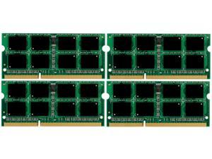 32GB 4*8GB DDR3-1333 PC10600 CL9 1.5V Unbuffered Non-ECC 204 PIN SODIMM Memory for Laptops/Notebooks