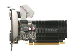 ZOTAC GeForce GT 710 DirectX 12 ZT-71302-20L 2GB 64-Bit DDR3 PCI Express 2.0 x 8 Video Grphics Card