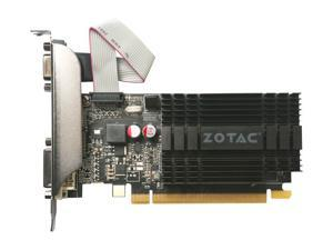 ZOTAC GeForce GT 710 DirectX 12 ZT-71301-20L 1GB 64-Bit DDR3 PCI Express 2.0 x 8 Video Graphics Card