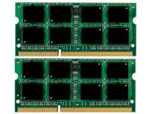 8GB 2*4GB Memory Sodimm DDR3 204-Pin CL7 1.5V Unbuffered Non-ECC PC8500 1066 MHz