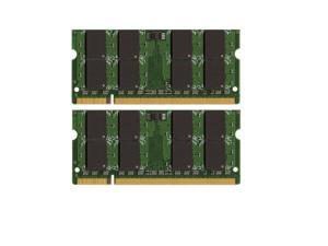 8GB (2*4GB) HP - Compaq Pavilion HDX16t DDR2-800 Unbuffered Non-ECC 200 Pin Laptop Memory PC6400