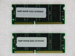 128MB (2*64MB) EDO 144-Pin SODIMM Non-Parity 3.3V MEMORY RAM NON-PARITY 60NS SODIMM