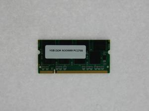 1GB PC 2700 DDR-333 SODIMM Memory for Dell Latitude