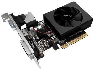 PNY GeForce GT 710 DirectX 12 VCGGT710XPB 1GB 64-Bit DDR3 PCI Express 2.0 x 8 Low Profile Video Graphics Card