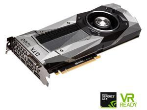 PNY GeForce GTX 1080 Founders Edition 8GB GDDR5 PCI Express 3.0 VCGGTX10808PB-CG Video Graphics Card