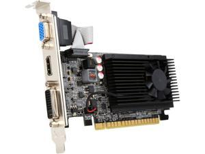 JATON GeForce GT 610 DirectX 11 Video-PX610GT-LX 1GB DDR3 PCI Express 2.0 x16 Low Profile Video Graphis Card