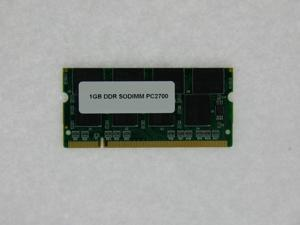 1GB MEMORY PC 2700 333MHz DDR CL2.5 200 Pin SODIMM