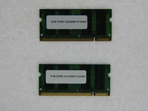 4GB 2*2GB 200 pin0 PC2 6400 CL6 16c 128x8 DDR2-800 2Rx8 1.8V SODIMM