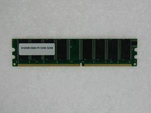512MB MEMORY PC 3200 400MHz 32X8 DDR CL3 Non ECC 184 Pin FOR HP PRESARIO SR1647ES SR1647IT SR1649IT SR1650NX SR1659ES