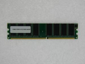 1GB PC 2100 266MHz DDR1 Non-ECC 184 Pin 64MX8 CL2.5 DIMM FOR SOYO SY P4I FIRE DRAGON P4I865PE PLUS DRAGON 2