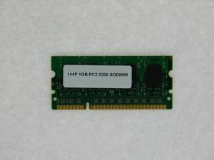 1GB 144 pin PC2 3200 CL3 8c 128x8 DDR2-400 SODIMM
