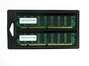 1GB (2*512MB) MEMORY 64X64 168-PIN PC133 6NS 3.3V NON ECC SDRAM RAM DIMM