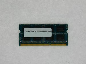4GB MEMORY 512X64 PC 10600 1333MHZ 1.5V DDR3 204-PIN SO DIMM LOW DENSITY 16 CHIP  FOR HP 420 620 625 ELITE 8000F