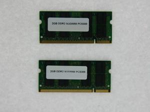 4GB (2*2GB) PC2 5300 DDR2 SDRAM 200 pin 1.8V 667MHz SODIMM 2RX8 MEMORY FOR DELL PRECISION M2300 M6300 M4300 M65 M90