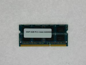 4GB MEMORY 512X64 PC3 10600 1333MHZ 1.5V DDR3 204-PIN SO DIMM LOW DENSITY 16 CHIP  FOR HP PROBOOK 4310S 4320S 4420S 4520S 4525S 4720S 5310M 5320M 6440B