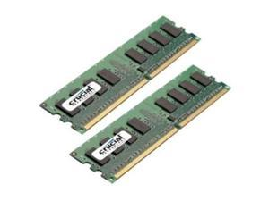 Crucial Technology Ct2kit12864aa667 2 Gb ( 2 * 1 Gb ) Memory Dimm 240-pin 667 Mhz ( Pc2-5300 )